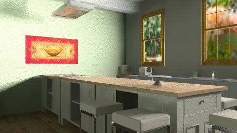 Country Kitchen - Country - Kitchen  - by Fusion12