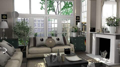 Ona - Classic - Living room  - by laurawoodley