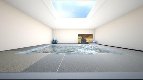 Indoor Pool - Modern - Garden  - by Yemascus