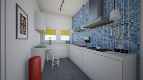 For Nikki 4 - Eclectic - Kitchen  - by Theadora