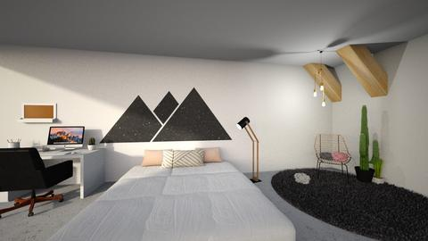 Geometric Bedroom - Modern - Bedroom - by mluisis07