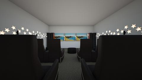 theater room  - by crack_unicorn23