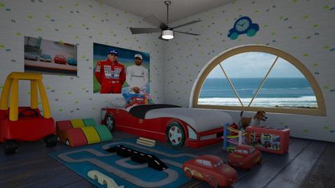 Sports Fan Bedroom - Bedroom  - by Tupiniquim
