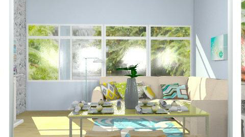 Beach house - Minimal - Living room  - by vicvic04