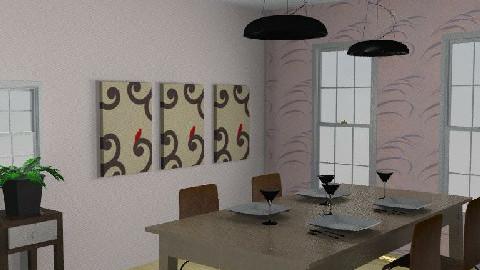 Dining room 3. - Dining Room  - by Varga Dora