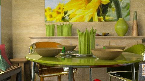 sunflover - Eclectic - Kitchen  - by chania
