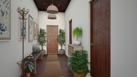 Welcoming Hallway - by I designs