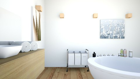 Spa 2 - Modern - Bathroom  - by lanaiahubbard