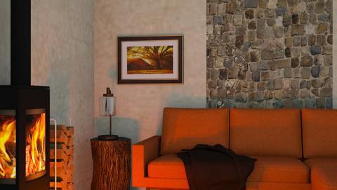 Rustic - Rustic - Living room  - by RaeCam