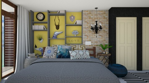 Bedroom Redesign 2 - Modern - Bedroom  - by DeborahArmelin