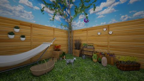 Garden Corner - Garden - by chocolatedonut71