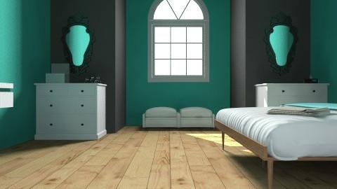practice - Vintage - Bedroom  - by Chrissie Renee Ockey