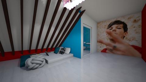 my kind of teen getaway  - Bedroom  - by 1D wolfgal