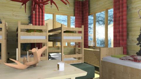 Cabin Fever - Rustic - Bedroom  - by natural11