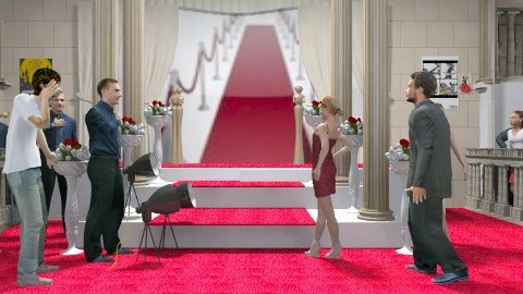 the red carpet - Glamour - by auntiehelen