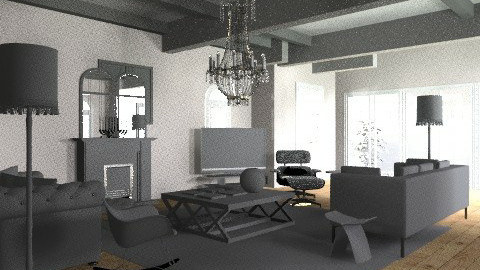 mal room2 - Classic - Living room - by pia
