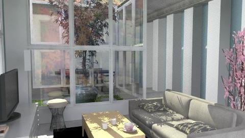Simple - Minimal - Living room  - by katsii