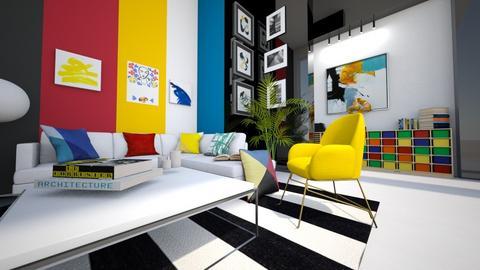 stftfj - Living room  - by Mounir HSSIN