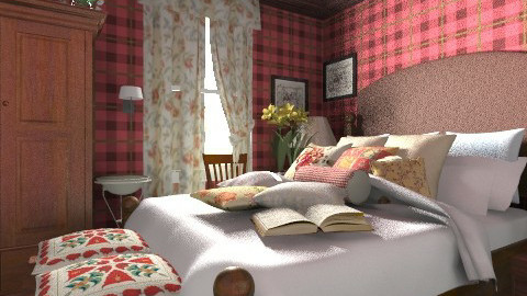 Camera scozzese - Country - Bedroom  - by Eloisa_Jimmy Dean