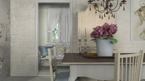 Ivory Dreams - Country - Dining room  - by starsector