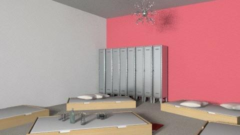 GDFB roze ander aanzicht 2 - Minimal - Bedroom - by fylohsophy