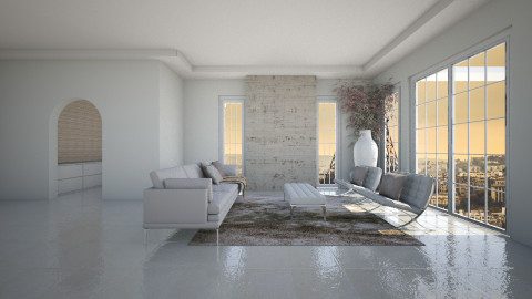 simple  - Classic - Living room  - by Hajartjee