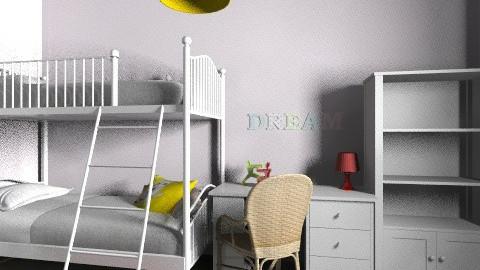 Lia_Itay_85a - Classic - Kids room - by noga boyarsky