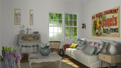 The Junk Shop - Vintage - Living room  - by Carliam