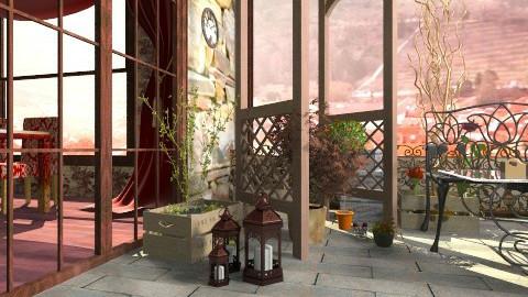Balcony boom - Rustic - by Yomona