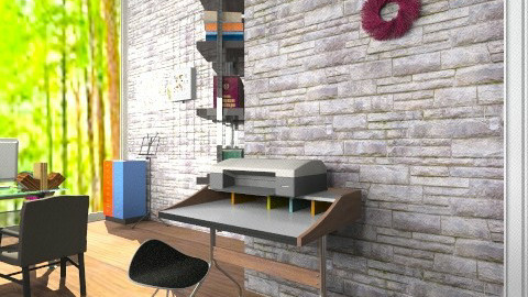 Madden House_Office 1 - Modern - Office  - by girlgirl411