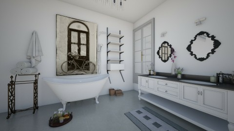 Luxury bathroom - Vintage - Bathroom - by Emily Bennett