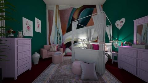 OKeefe Bedroom - Feminine - Bedroom - by Irishrose58