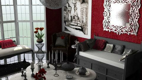 Bibliothèque Rouge - Eclectic - Living room - by camilla_saurus