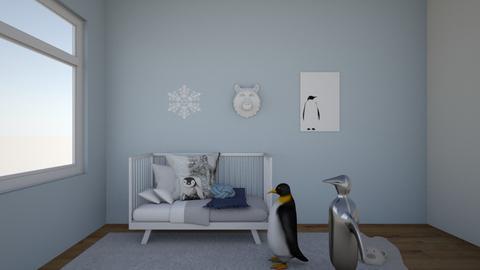 penguins - Kids room - by Emmaxgo