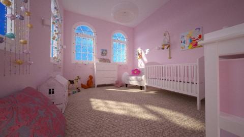 Meisjeskamer idee day - Classic - Kids room - by Perta