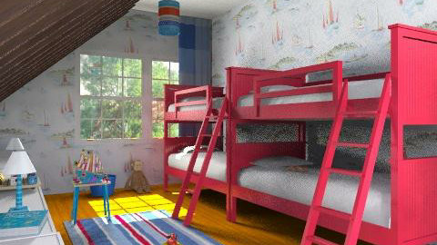 The boys of summer - Masculine - Kids room  - by alleypea