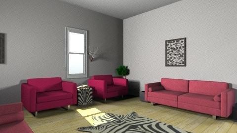 zebra sitting room - Glamour - by itsmaddietho