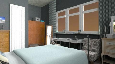 our bedroom - Eclectic - Bedroom  - by mrschicken