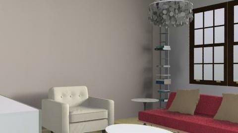 Rachel Living Room2 - Retro - Living room  - by rbqueenie