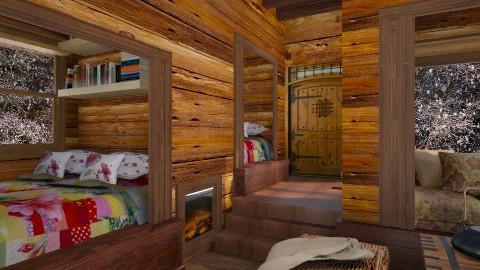 log cabin - by Marie Grace Ypilan Serrano
