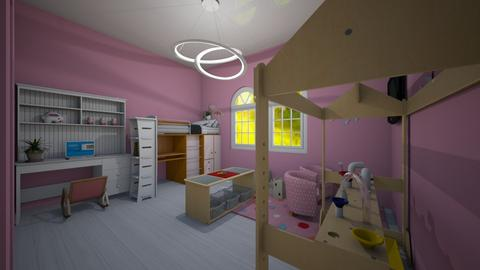 Girls bedroom - Modern - Kids room  - by I_love_my_dog_icecream_and_cookie