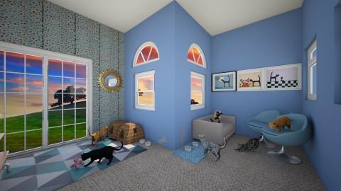 Tabby Teritory - Modern - Kids room  - by Snowella11