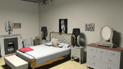 yasmin - Country - Bedroom  - by yasminadem