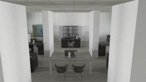 Office  - Modern - Office  - by aubriella