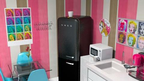 my apartament 2 - Feminine - Kitchen - by lopez_rica