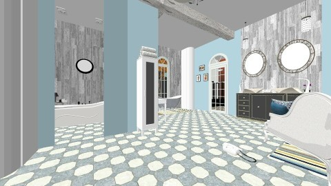 Southern Comfort 1 - Eclectic - Bathroom  - by decordiva1