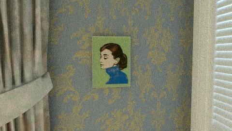 Blair Waldorf inspired bedroom2 (dorm room)  - Vintage - Bedroom  - by faisondesigns
