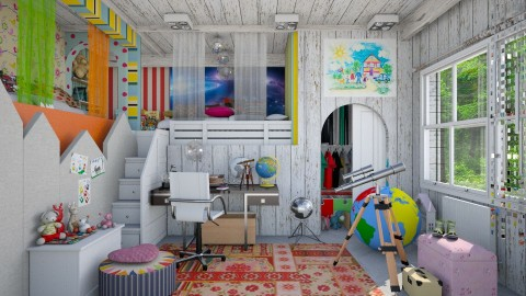 for 2 kids  - Eclectic - Kids room - by Ida Dzanovic