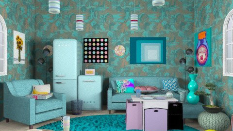 crazy room - Eclectic - Kitchen  - by livia87
