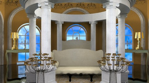 versace - Glamour - Bedroom  - by trees designs
